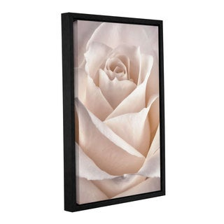 ArtWall Cora Niele's Classic Rose Gallery Wrapped Floater-framed Canvas