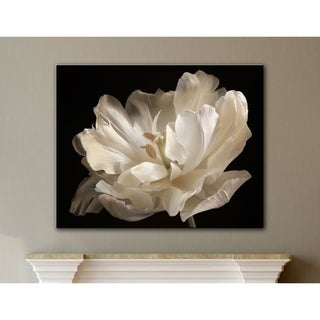 ArtWall Cora Niele's White Tulip Gallery Wrapped Canvas (5 options available)