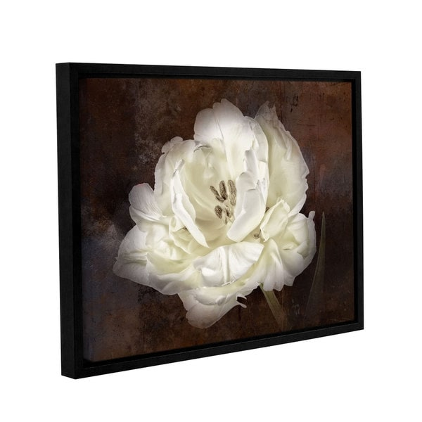 ArtWall Cora Niele's Tulipa Dubbel Gallery Wrapped Floater-framed Canvas