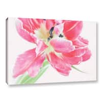 ArtWall Cora Niele's Catchy Flower Gallery Wrapped Canvas