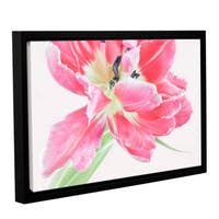 ArtWall Cora Niele's Catchy Flower Gallery Wrapped Floater-framed Canvas