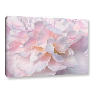 ArtWall Cora Niele's Peony Macro II Gallery Wrapped Canvas