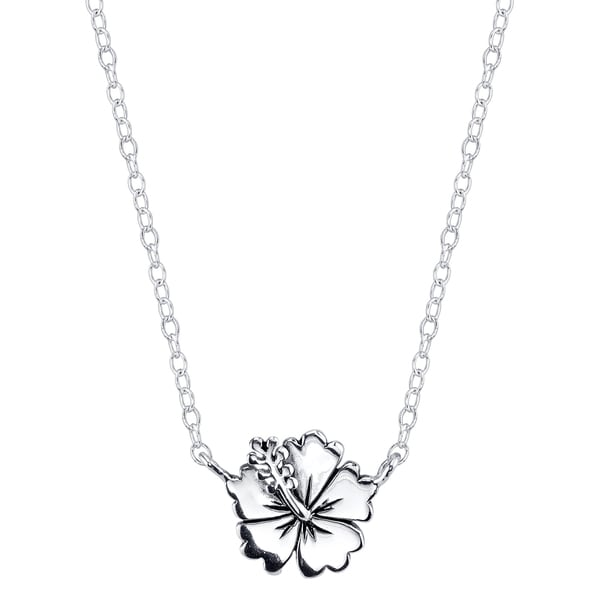 pearl my diamante statement necklace flower and