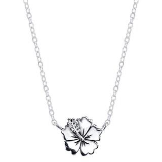 Disney Sterling Silver Lilo & Stitch Flower Necklace|https://ak1.ostkcdn.com/images/products/11426235/P18388463.jpg?_ostk_perf_=percv&impolicy=medium