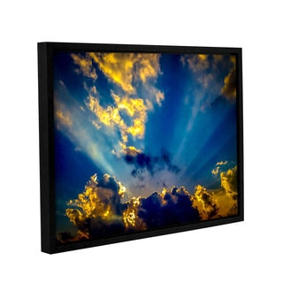 ArtWall Marianne Mangan's Heaven's Rays Gallery Wrapped Floater-framed Canvas