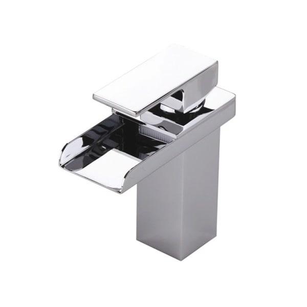 Single Hole Tub Faucet : Sumerain Single-Hole Waterfall Bathroom Faucet - Free Shipping Today ...