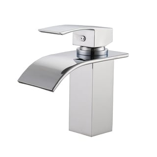 sumerain singlehole waterfall bathroom faucet