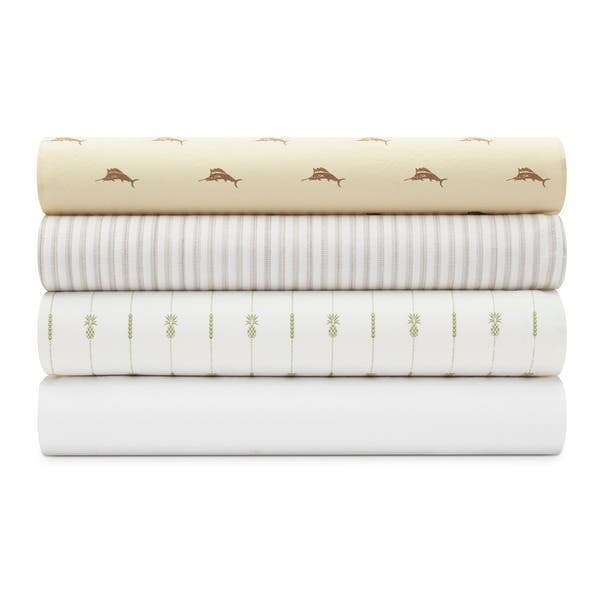 Shop Tommy Bahama Cotton Percale Bed Sheet Sets On Sale