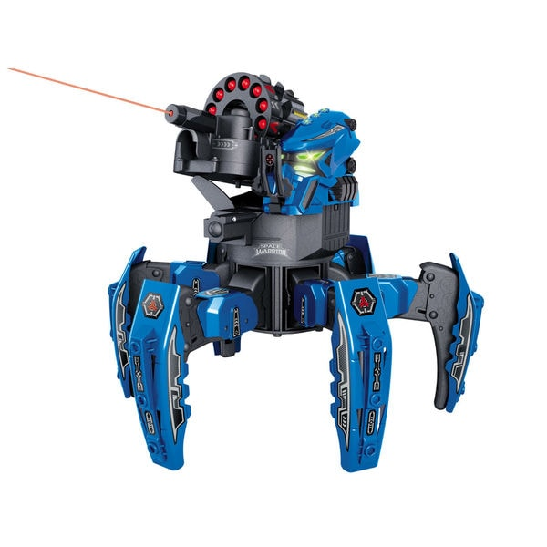 Space Warrior Blue Battle Bot