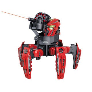 Space Warrior Red Battle Bot