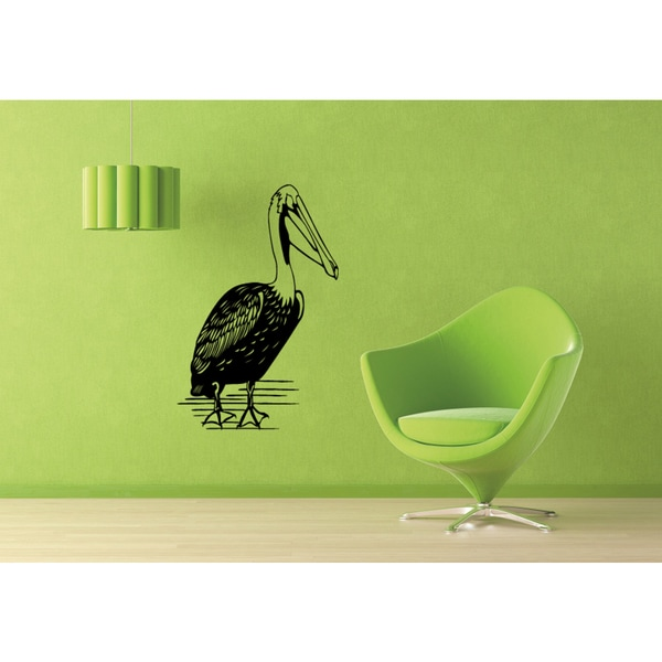 Pelican Outdoors Wall Art Sticker Decal - Free Shipping Today ...
