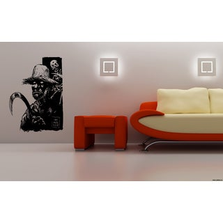 Halloween Zombie and Skeleton Wall Art Sticker Decal