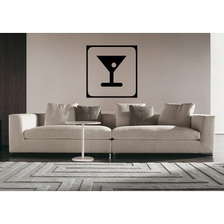 A glass of drink Wall Art Sticker Decal