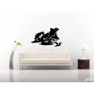 Motorcycle Racing Wall Art Sticker Decal