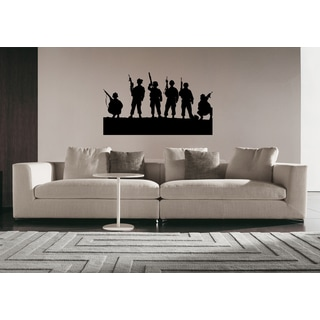 Young Soldiers Wall Art Sticker Decal