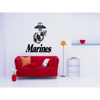 Pride Marines American flag Eagle Wall Art Sticker Decal