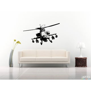 Military Helicopter Propeller Wall Art Sticker Decal