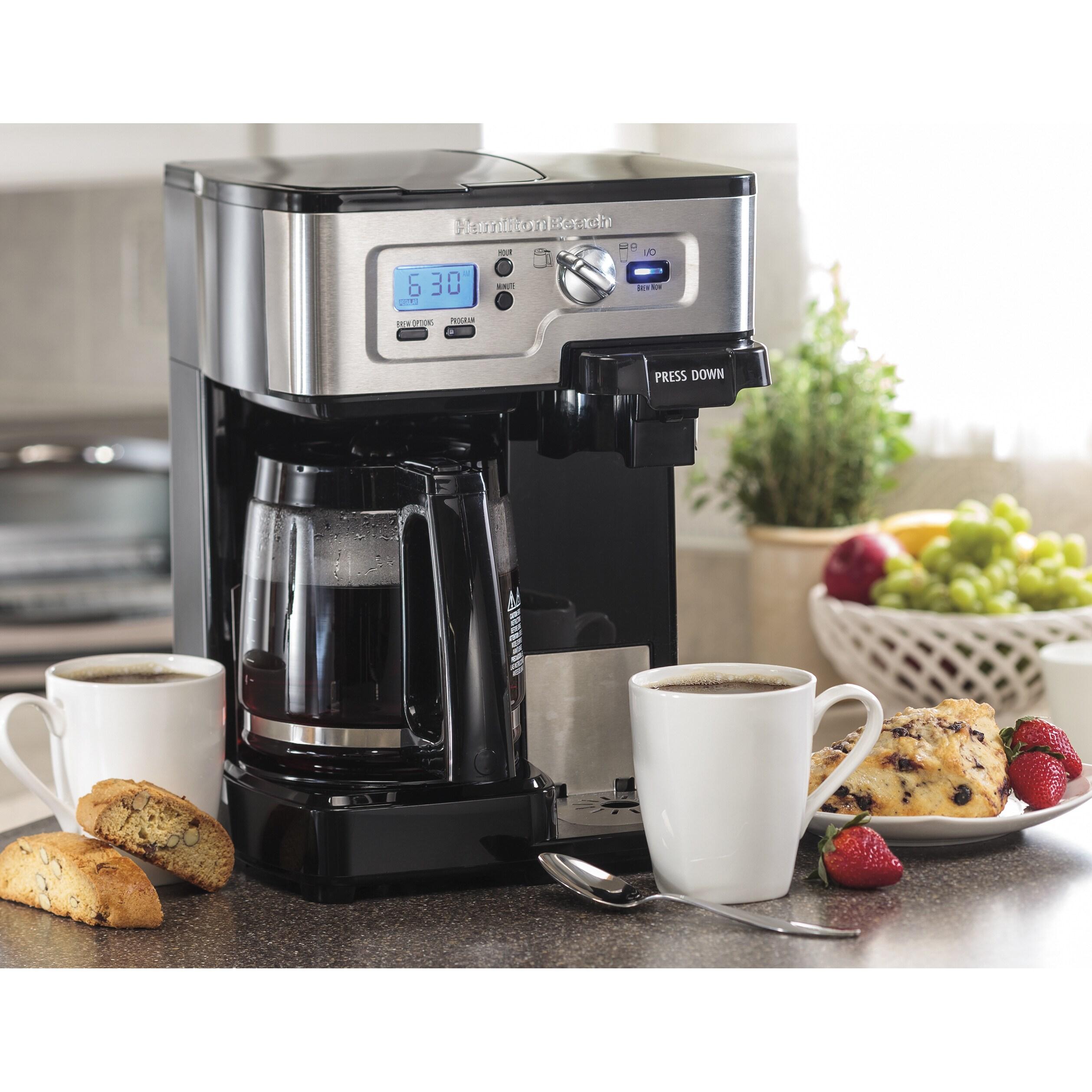 Hamilton Beach Two-Way FlexBrew Coffee Maker (Manufacture...