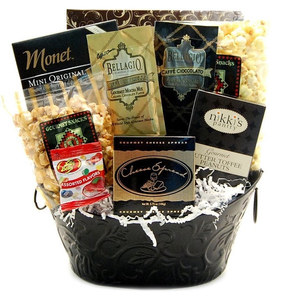 With Sympathy Gift Basket