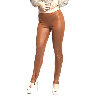 Sara Boo Women's Brown Leggings
