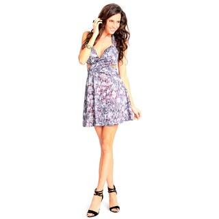 Sara Boo Animal Print Cross My Heart Dress