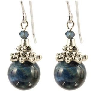 Ardent Eye of the Ocean Dangle Earrings