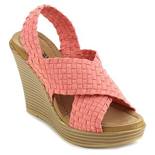 Atrevida Wallie-04 Women's Woven Wedge Sandals