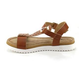 Atrevida Perah-04 Women's T-strap Flat Sandals