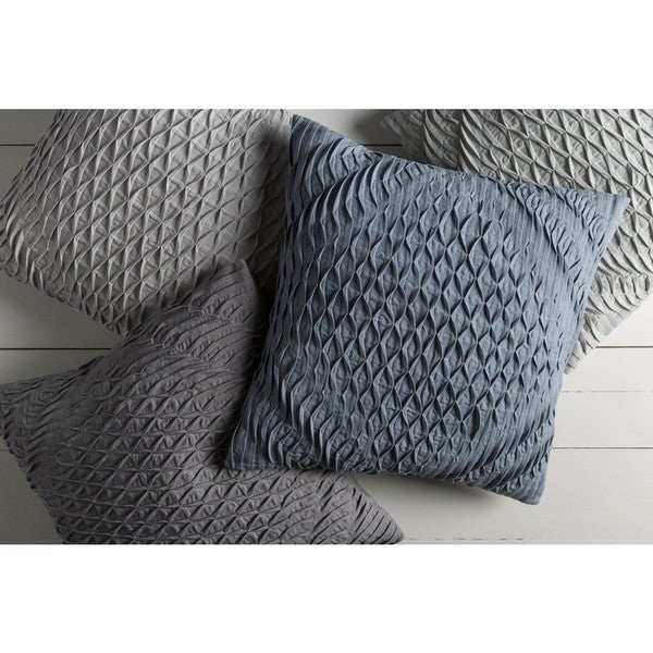 Decorative Gate 22-inch Poly or Feather Down Filled Throw Pillow
