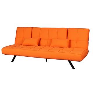 Threet Outdoor Orange Multi-Functional Futon Bed