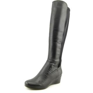 Rockport Women's 'Total Motion Wedge Tall Boot' Leather Boots