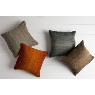 Decorative Easy 22-inch Poly or Feather Down Filled Throw Pillow