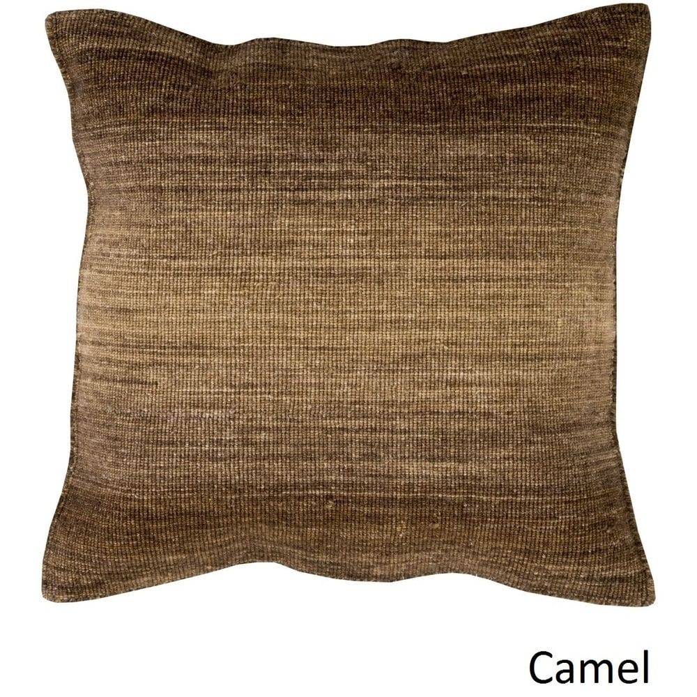 Shop Decorative Easy 22-inch Poly or Feather Down Filled Throw Pillow - Overstock - 11441485