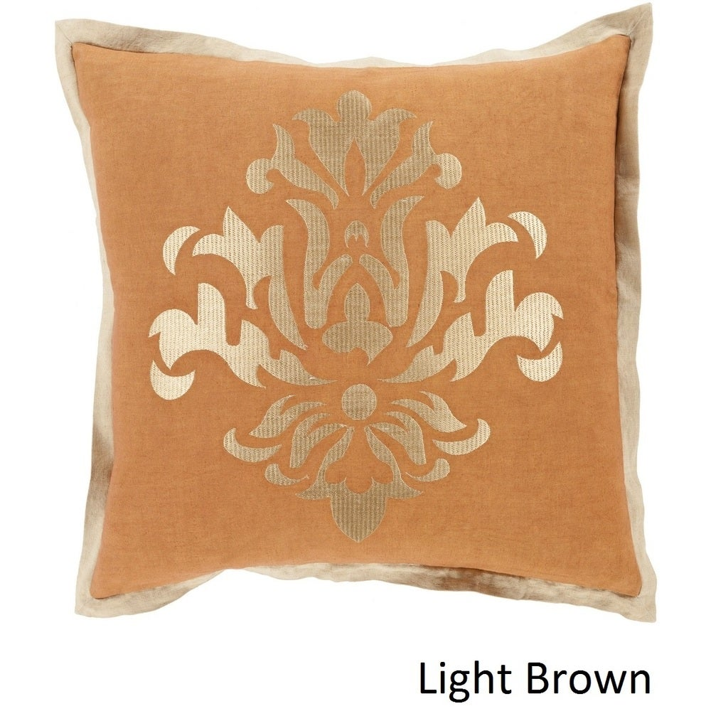 Shop Decorative East 22-inch Poly or Feather Down Filled Throw Pillow - Overstock - 11441500