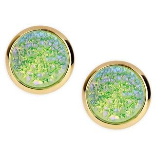 Handmade Saachi Tiny Druzy Studs (China)