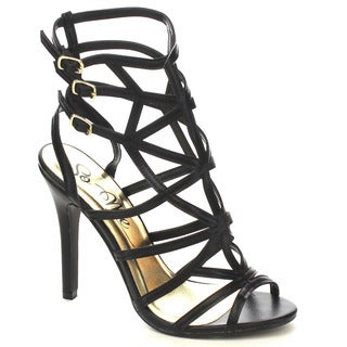 Beston Fb08 Women's Strappy Stiletto Sandals