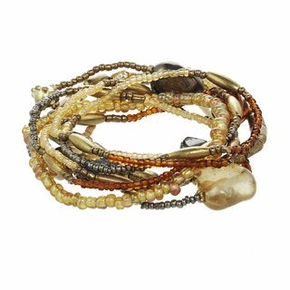 Alexa Starr Mutli-strand Seed Bead Bracelet