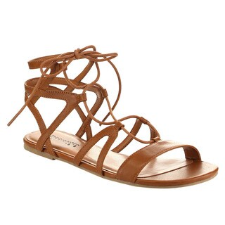 Beston Bb89 Women's Gladiator Flat Sandals