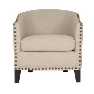 Stevie Club Nailhead Trim Chair