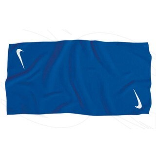 Nike Tour Blue Microfiber Golf Towel