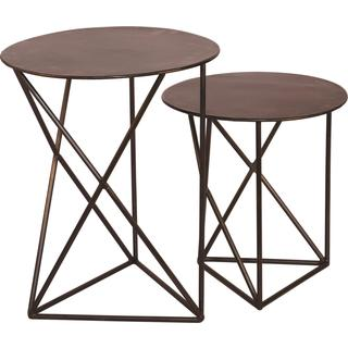 Ren Wil Grasmere Accent Iron Contemporary Table