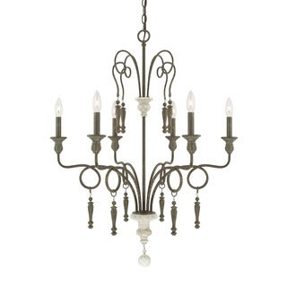 Austin Allen & Company Sofia Collection 6-light French Country Chandelier
