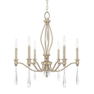 Austin Allen & Company Layla Collection 6-light Mystic Chandelier