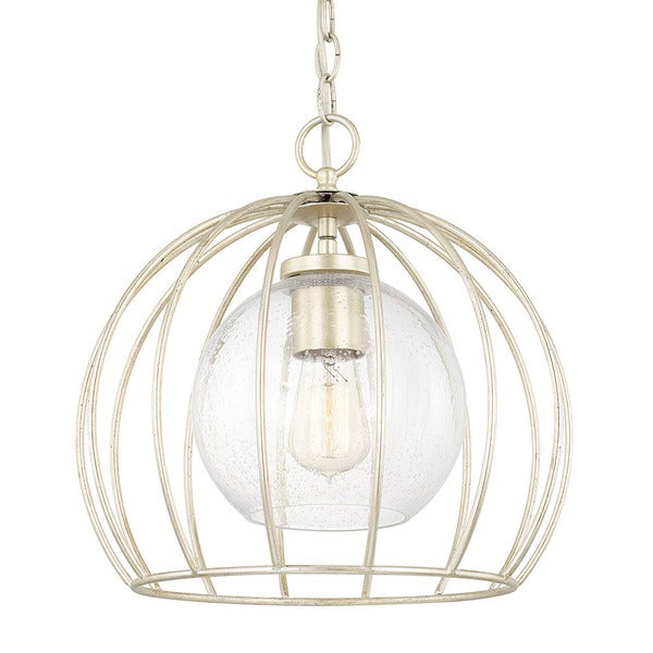 Austin Allen & Company Traditional 1-light Winter Gold Pendant