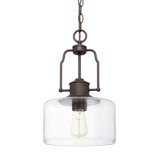 Austin Allen & Company Urban 1-light Burnished Bronze Pendant