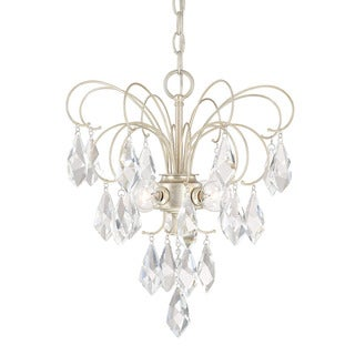 Link to Chloe 4-light Winter Gold Mini Chandelier Similar Items in Chandeliers