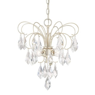 Austin Allen & Company Chloe Collection 4-light Winter Gold Mini Chandelier