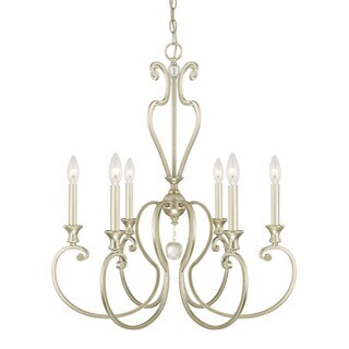 Austin Allen & Company Abigail Collection 6-light Champagne Chandelier