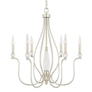 Austin Allen & Company Olivia Collection 6-light Champagne Chandelier