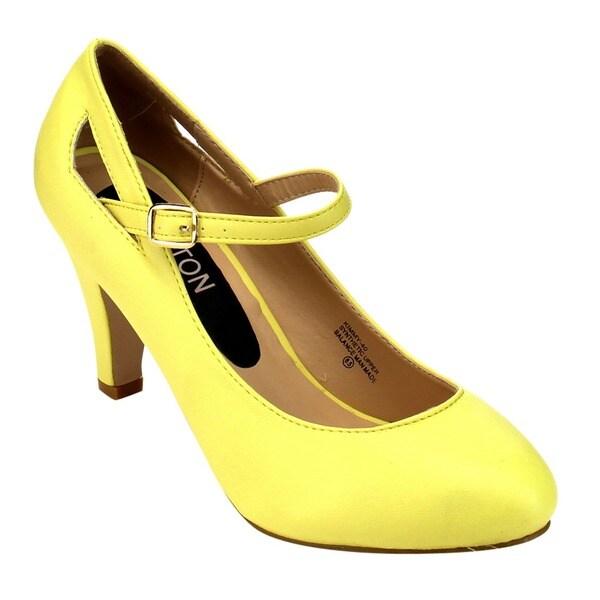 beston cc02 s mid heel janes free shipping on